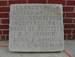 Pleasant Ridge Methodist Church Cemetery