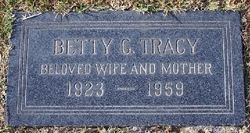 Betty Geraldine <i>Churchill</i> Tracy