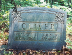 Frances Jane <i>Shepherd</i> Oliver