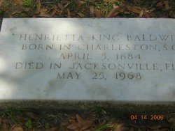 Henrietta <i>King</i> Baldwin