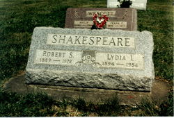 Lydia Lovenia <i>Wescott</i> Shakespeare