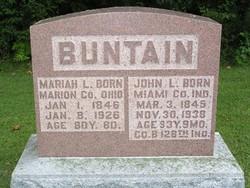 Pvt John Lowry Buntain