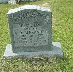 Bessie <i>Loe</i> Alexander