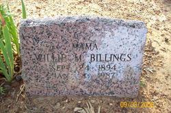 Willie Mae <i>Kitchens</i> Billings