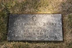 Alexander Grant Barry