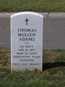 Lieut Thomas Mullen Adams