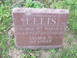 Sarah E. <i>Tice</i> Ellis