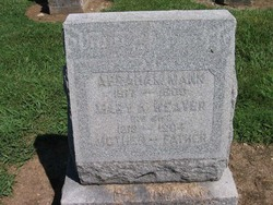 Mary A Weaver Mann