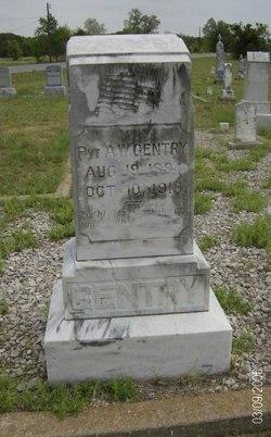 Pvt A. W. Gentry