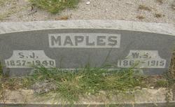 W. S. Maples