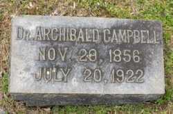 Dr Archibald Campbell