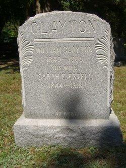 Sarah E. <i>Estell</i> Clayton