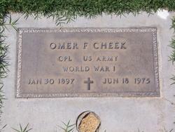 Omer Franklin Cheek