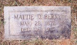 Mattie D. Berry
