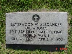 Layerwood W. Alexander