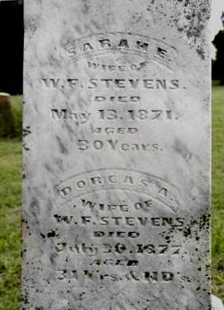 Sarah E. <i>Ward</i> Stevens