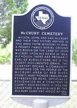 McCrury Cemetery