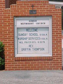 Gibson Methodist Church