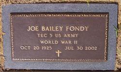 Joe Bailey Fondy
