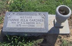Fannie Ella <i>Toone</i> Gardner