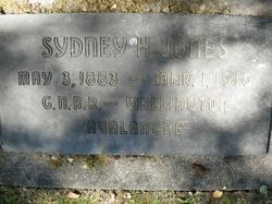 Sydney H. Jones