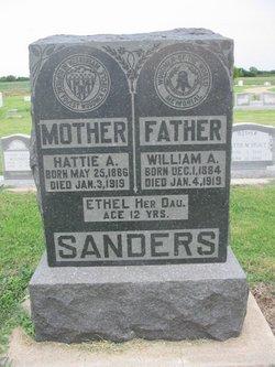 Hattie A. Sanders
