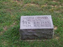 Minnie <i>Hooker</i> Haynie