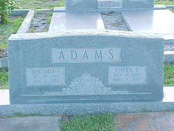 Benjamin I Adams