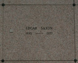 Edgar Saxon