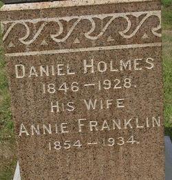 Annie <i>Franklin</i> Holmes