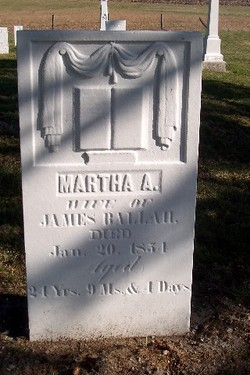 Martha A. <i>O'Bryant</i> Ballah