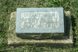 Infant Son Perry T. PAUL