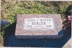 Adah Lucy <i>Botts</i> Berger