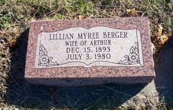 Lillian Myree <i>Botts</i> Berger