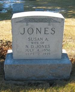 Susan Ann <i>Hubbs</i> Nivens/Jones