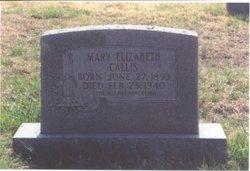 Mary Elizabeth <i>Ragland</i> Callis