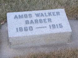 Amos Walker Barber