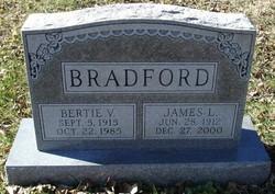 Bertie V. Bradford