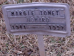 Margie <i>Toney</i> Howard