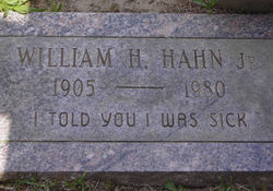 William H. Hahn, Jr