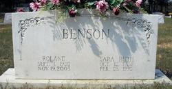 Sara Ruth Benson