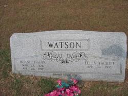 Ellen Catherine <i>Tackitt</i> Watson