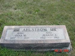 Anna Marie <i>Berg</i> Ahlstrom