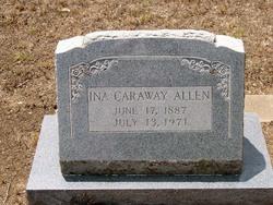 Ina <i>Caraway</i> Allen