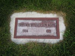 Thelma <i>Mikkelsen</i> Kohl