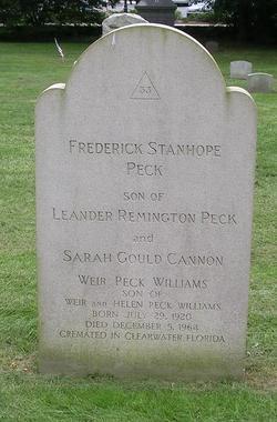 Frederick Stanhope Peck