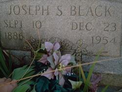 Joseph S Black