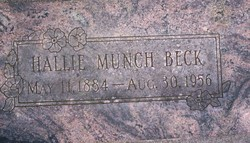 Hallie <i>Munch</i> Beck