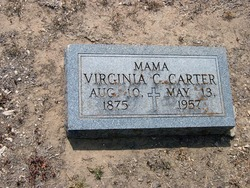 Virginia Jennie <i>Clements</i> Carter