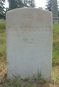 Pvt John Burkmyer